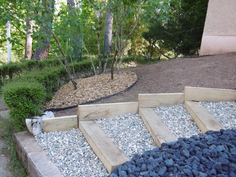 Aménagement d'un jardin à Firmi